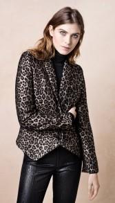 Smythethejackets Anytime Blazer Leopard - EU 38