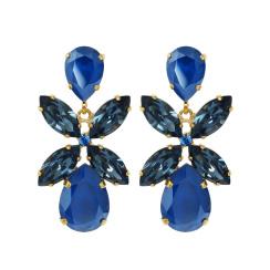 Caroline Svedbom Dione Drop Earrings | royal blue