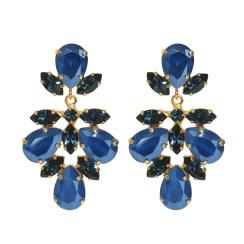 Caroline Svedbom Selene Earrings | royal blue