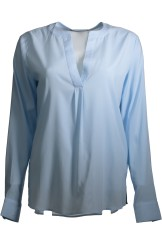Herzen's Angelegenheit Silk Blouse | light blue