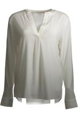 Herzen's Angelegenheit Silk Blouse | white