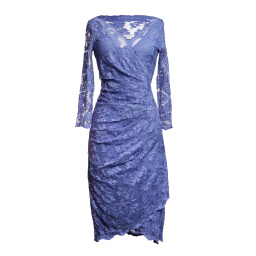 Olvis' Lace Dress | Hyacinth Purple  (Please contact boutique to order)