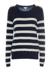 Dea Kudibal Salinas Sweater |​ Blue&Cream