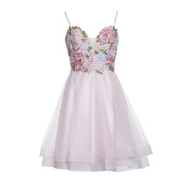 Basix Black Label Dress   Soft Pink