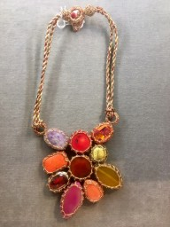 Boks & Baum Mini Lea Red Necklace