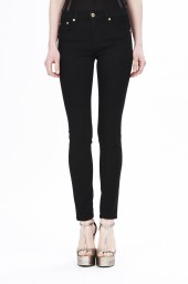 Roberto Cavalli Skinny Fit Denim Pant | Black