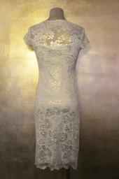 Olvis' Shimmer Lace Dress | Light Gold