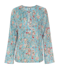 Dea Kudibal Torrence Stretch Silk Blouse | Poppies