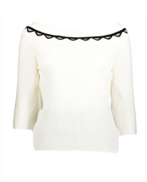 Singoalla top with Geometric Detailing