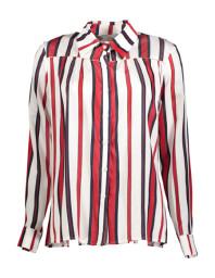 Paris Red, White & Navy Pin Stripe Shirt