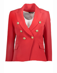 Paris Blazer with Gold Buttons | red