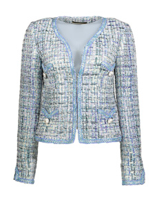 Maruschka de Margo mint deluxe short jacket - Mint deluxe