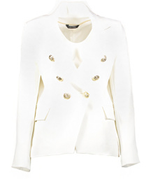 Paris Blazer with Gold Buttons | white