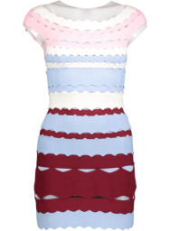 Paris Tri-Color Ballerina Band Dress