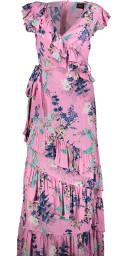 Ravn Benji Flower Gown Pink
