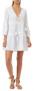 MELISSA ODABASH REID EMBROIDERED SHORT DRESS - Reid dress