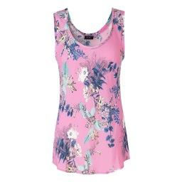 Ravn Bawi Floral Top| pink