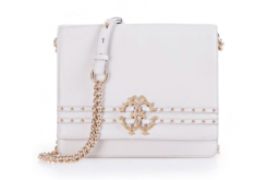 MEDIUM DUCHESS SHOULDER BAG WITH ROBERTO CAVALLI LOGO