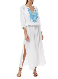 MELISSA ODABASH SIENNA WHITE DRESS