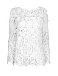 PARIS FLORAL LACE TOP