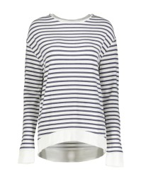 MAJESTIC STRIPED SWEATSHIRT