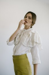 MARIA STANLEY SATINE BLOUSE |