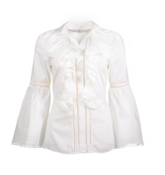 PARIS RUFFLE BLOUSE