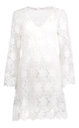 PARIS WHITE LACE DRESS