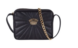LA CONDESA QUILTED BAG | BLACK