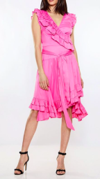 RAVN BECCA PINK DRESS