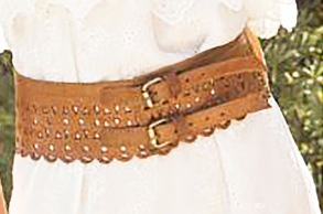 PARIS LEATHER WAIST BELT