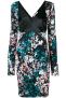 ROBERTO CAVALLI FLOWER DRESS