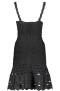 PARIS BAND DRESS W/ CUT OUT DETAILS | BLACK