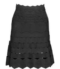 PARIS BAND SKIRT W/CUT OUT DETAILS