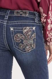 Miss Me Fleur du Lis Skinny Jeans