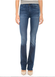 Goldsign Quinn Slim Bootcut Jeans in Wally
