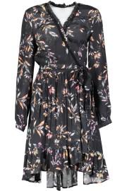 RAVN PORTI DRESS | BLACK FLOWER