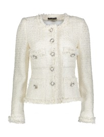 MARUSCHKA DE MARGO TWEED|CREAM & PEARLS