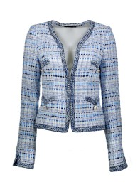 MARUSCHKA DE MARGO TWEED|BLUE /WHITE