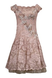 Olvis' Ballerina Lace Dress | Pink (Please contact boutique to order)