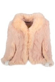 Pink Rabbit and Fox Bolero Jacket | pink (please contact boutique to order)