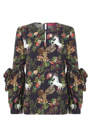 LA CONDESA UNICORN BLOUSE