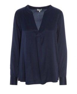 Dea Kudibal - Santena Stretch Silk shirt Navy