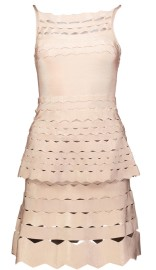 PARIS BAND SKIRT WITH CUT OUTS | PINK