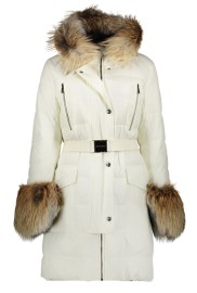 ROBERTO CAVALLI LUX DOWN COAT | OFF WHITE