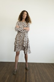 MARIA STANLEY FLEUR DRESS| ANIMAL