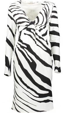 Roberto Cavalli Zebra Dress