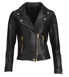 FRONTROW SOFT LEATHER BIKER JACKET