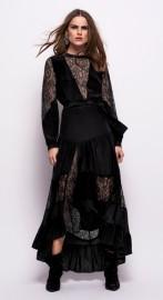 RAVN SILK SICILI DRESS|BLACK