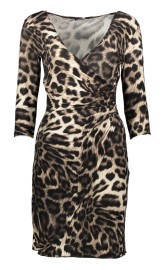 PARIS LEO STRETCH DRESS | LEOPARD PRINT